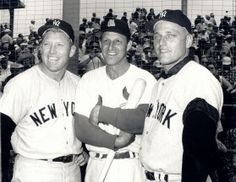 Mickey Mantle, Stan Musial & Roger Maris