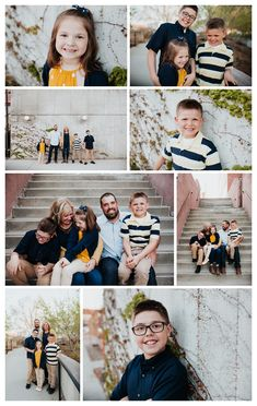 Navy and gold color inspiration. Photography by Fly Away Photography. Blended Family Photos, Country Family Photos, Casual Family Photos, Adult Family Photos, Urban Family Photos, Fall Family Photo Outfits, Large Family Photos, Awkward Family Photos, Family Picture Poses