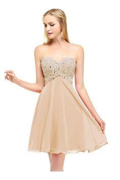 Mini Chiffon Beading Homecoming Dress,Short Bridesmaid Dresses,Bridesmaid Dress,Short Homecomming Dresses