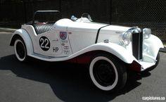 1951 MG TDC.