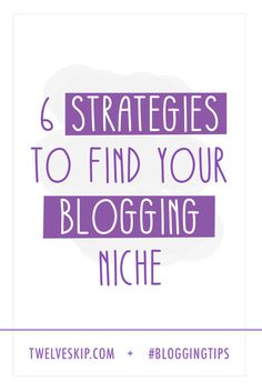 Learn some actionable strategies that can help you discover which topics you were born to blog about.