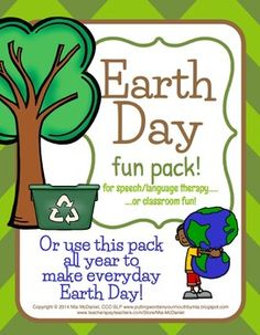 This+37+page+NO+PREP+download+includes+a+variety+of+fun+activities+to+use+in+your+therapy+room+for+Earth+Day....OR+MAKE+EVERYDAY+Earth+Day+and+use+this+packet+to+teach+about+being+green/recycling,+etc.+throughout+the+year!+Includes+-+4+coloring/art+pages+that+coordinate+with+the+teaching+materials/lessons.-+2+pages+of+teaching+materials+to+use+for+teaching+about+the+3+Rs+(reduce,+reuse+and+recycle)+containing+child-friendly+language+and+practical+ideas+about+how+your+students+can+get+involved+in...