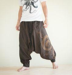 Hippie Pants Baggy Pants Ethnic Pants Asian by AmazingThaiStore