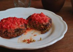 Steaks de carottes / pommes de terre