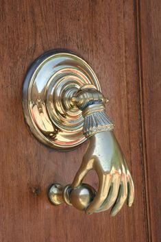 Delicate Hand Doorknocker