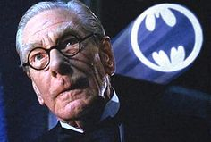 DC Comics in film n°8 - 1989 - Batman - Michael Gough as Alfred