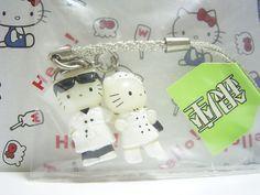 HELLO KITTY & Daniel GOTOCHI GINZA TOKYO JAPAN Only! Figure Strap Sanrio 2001 NEW Super RARE! 2.1cm 128.00