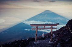 shadow of fuji by mattbenn8, via Flickr