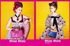 Spring 2012 Miu Miu.  Model: Mia Wasikowska.  Photographer: Mert and Marcus.