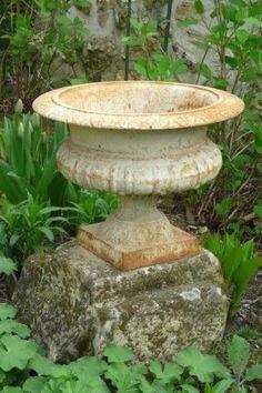 antique garden urn...