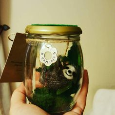 Check out this item in my Etsy shop https://www.etsy.com/uk/listing/527055527/needle-felted-sloth-in-a-jar