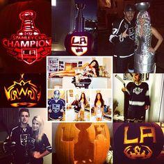 Kings Halloween La Art, Los Angeles Kings, Halloween, Instagram Posts, Hockey, Holidays, Holidays Events, Field Hockey, Holiday