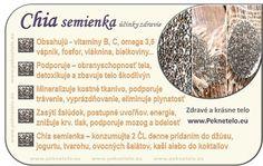 chia semienka na konci rcp. Nordic Interior, Healthy Fruits, Weight Loss Smoothies, Fruit Recipes, Natural Medicine, Natural Health, Life Is Good, Healthy Lifestyle, Health Fitness