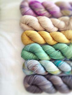 Loop Knit Lounge: Skein Merino Silk Sport