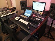 1024 x 768 ( Studio Desk, Studio Furniture, Studio Setup, Low End Theory, Music Desk, Acoustic Wall, Wood Worker, Inspired, Diy