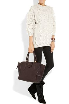 Marc by Marc Jacobs | Flipping Out textured-leather tote | NET-A-PORTER.COM