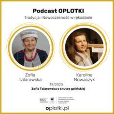 """Kolejny odcinek podcastu, naszej serii pt. """"Rękodzieło Wczoraj i Dziś"""", która jest realizowana w ramach projektu """"Tradycja i nowoczesność w polskim rękodziele"""". W naszym dzisiejszym spotkaniu gościmy Panią Zofię Talarowską, hafciarkę snutki golińskiej. Pani Zofia zajmuje się haftowaniem od 1982 roku, wykorzystując technikę nasnuwania. Urodziła się w Golinie pod Jarocinem w Wielkopolsce. Z tego odcinka […] Artykuł Zofia Talarowska i jej snutka golińska pochodzi z serwisu Oplotki. Movies, Movie Posters, Palmas, 2016 Movies, Film Poster, Cinema, Films, Movie, Film Posters"""