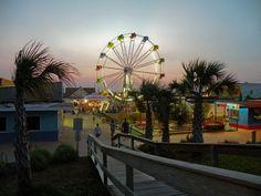 Carolina Beach Boardwalk by littlereview:
