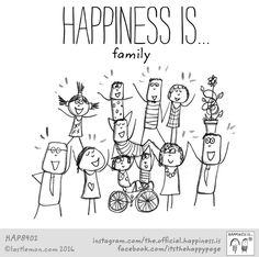 Happiness: Happiness Is...family.