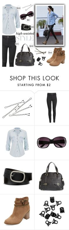 """""""Kendall Jenner Look for Less"""" by mmmartha ❤ liked on Polyvore featuring BOBBY, H&M, maurices, Mixit and Sole Society"""