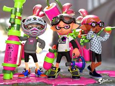 Inkling Boys | Splatoon i just got this game for my Wii u and I have to say that for 60 dollars I love it