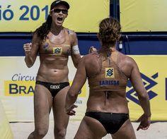 Blog Esportivo do Suíço: Larissa e Talita encaram Ágatha e Duda na final em Maceió