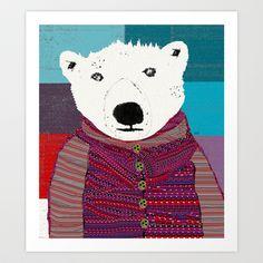 the artist Art Print by bri.buckley - $22.00