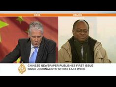 Al Jazeera speaks with Washington Post Bureau Chief Keith Richburg on the Chinese newspaper strike following a censorship dispute.  The paper, Southern Weekly, has begun publishing again as usual after a compromise was reached over government controls.