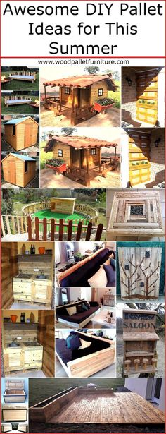 Summer has arrived and the individuals always look for the ways which can assist them in enjoying the summer season, some of them look for the ideas they can create with their own hands to impress others while enjoying the weather. We know that people love to create items for their home, so we always try to collect the images of the impressive pallet made items to allow the individuals copy the ideas which they feel will adorn their home in the best way. So, here are some awesome DIY wood…