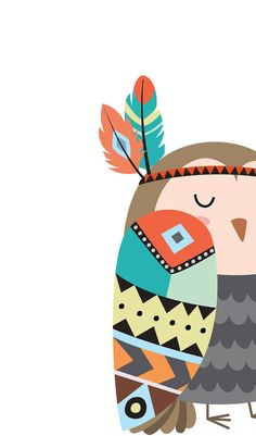 Forest nursery decor Owl nursery decor Animal by WordsAndConfetti