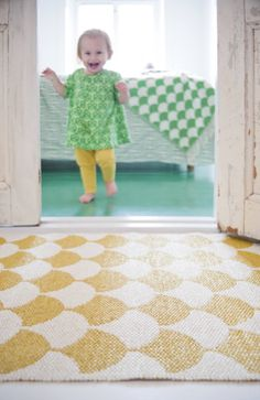 Gerda by Brita is a soft plastic rug made in Sweden. The graphic design as well as the soft material is made to last. Carpet Runner, Stair Runner Carpet, Cheap Carpet Runners, Tile Rug, Easy Care Rug, Kids Rugs, Rugs, Soft Baby Blankets, Plastic Rug