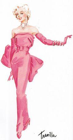 Figurinos de Sucesso: Vestidos Inesquecíveis da Ficção - Cor-de-Rosa