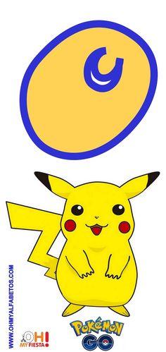 Pokemon Go, Pokemon Party, Pokemon Cakes, Alfabeto Do Pokemon, Minions, Hulk, Alphabet, Template, Kids