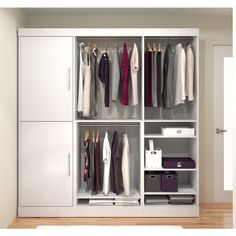 Nebula 80-inch Classic kit - Overstock Shopping - Great Deals on Bestar Closet Storage