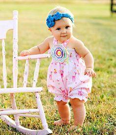 Cute baby romper