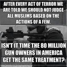 I don't own any guns, but this is an interesting and valid point.