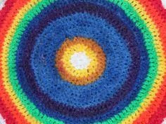 linda crochet mandala reverse side
