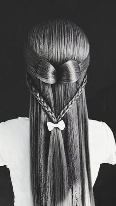 ✔ Hairstyles Updo Videos With Tiara Braided Ponytail Hairstyles, Easy Hairstyles For Long Hair, Braids For Long Hair, Pretty Hairstyles, Hair Updo, Medium Hair Styles, Short Hair Styles, Hair Upstyles, Hair Videos