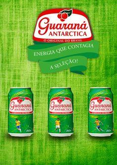 Propaganda Guaraná Antarcitica - Energia que contagia a seleção