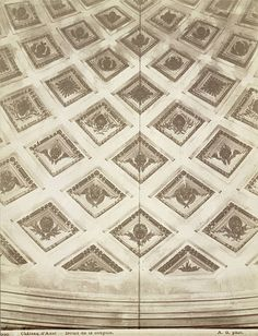 Château, Anet. Detail of the Cupola (Interior) | by Cornell University Library
