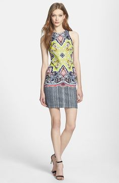 havana print dress / clover canyon