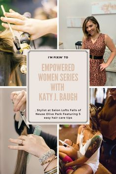 NC Blogger I'm Fixin' To shares her Empowered Women series featuring Katy J. Baugh of Salon Lofts Fall of Neuse Olive Park. Check it out!