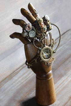 Steampunk hand