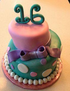 Sweet Sixteen Cake | Flickr - Photo Sharing!