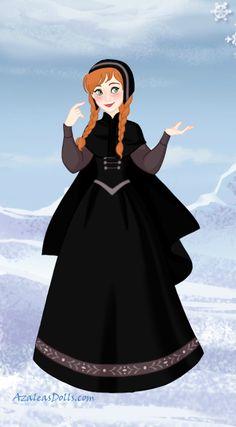 Anna mourning dress