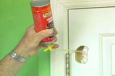View this quick video tip demonstrating how to fix a hole in a hollow core door in leass than an hour.