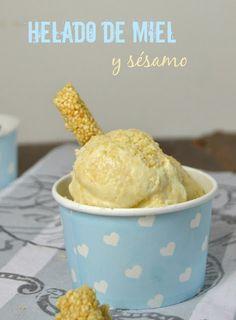 Cuuking!: Helado de miel y sésamo // sesame and honey ice cream