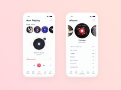 Daily UI Challenge - Music Player designed by Udara. Connect with them on Dribbble; App Design, Mobile Ui Design, App Musica, Piano Noten, Tattoo Musik, Musik Player, Iphone App Layout, Ios, Daily Ui
