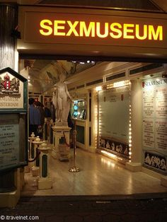 Yes, I've been to the Sex Museum in Amsterdam. Regrettably. I was curious. Not anymore... LOL