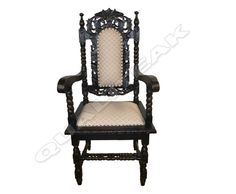 Please contacts us for asking detail about ANTIQUE VICTORIAN ARM YACHSTOOL CHAIR